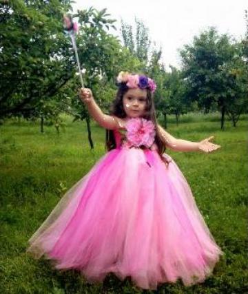 Rochita de carnaval fetite Zana Florilor 231