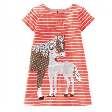 Rochita de vara, casual bumbac, Sweet Pony