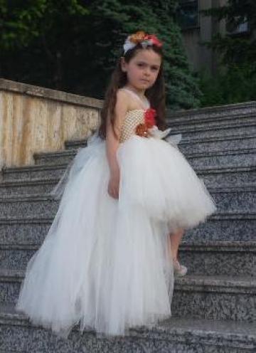 Rochita ocazie din tulle pentru fetite 999