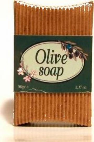 Sapun bio-organic pur din ulei de masline