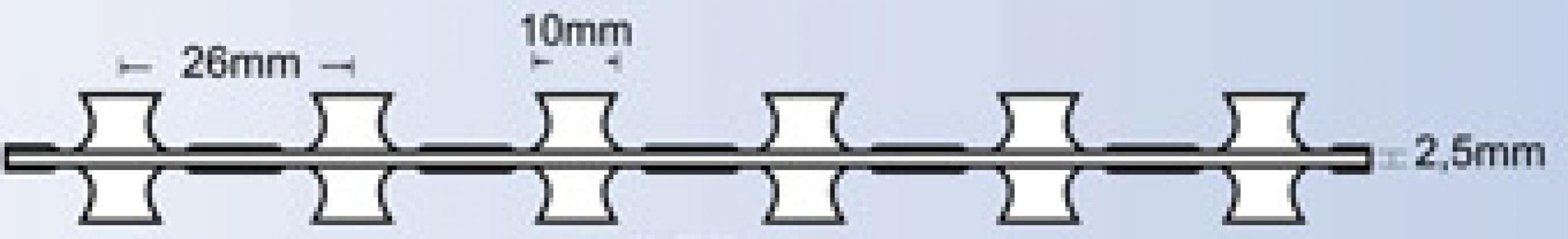 Sarma lamata BTO 10 concertina fara cleme