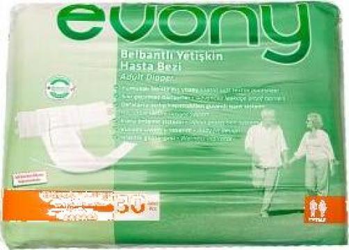 Scutece adulti Evony L, 30 buc