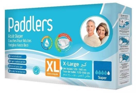Scutece adulti, Paddlers, Marimea XL - XLarge, 90 buc/set
