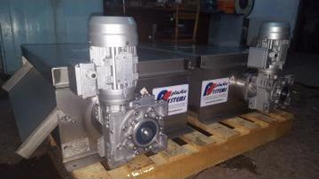 Separator magnetic pentru uleiuri si lichide tehnologice