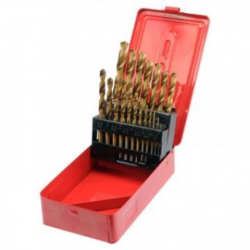 Set burghie pentru metal HSS - Titan 1-10 mm, Sthor 22330