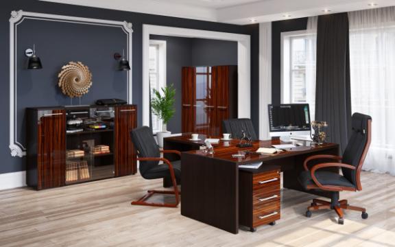 Set mobilier birou directorial Morris 1