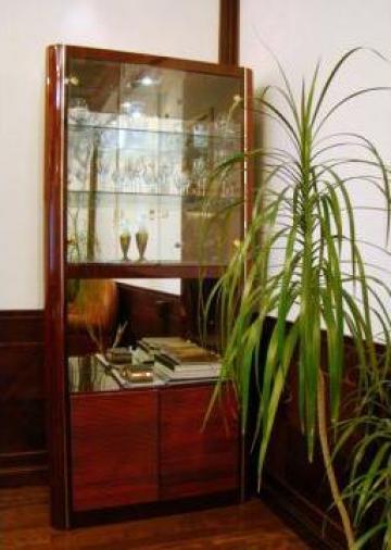 Set mobilier birou directorial lemn masiv lacuit