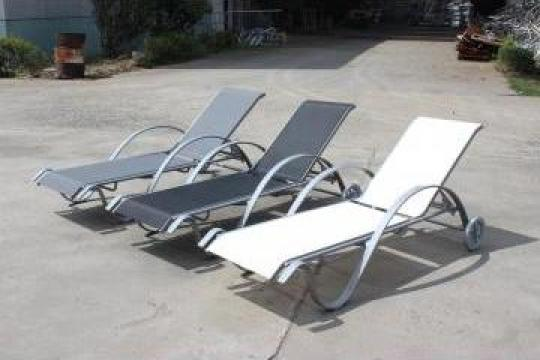 Sezlonguri elegante piscina hotel, strand, parc acvatic