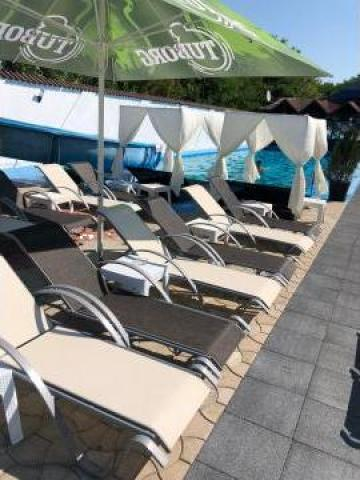 Sezlonguri piscina pensiune, hotel, parc acvatic, strand