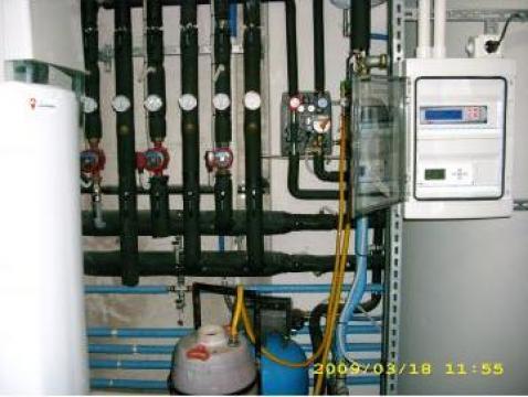 Sistem de climatizare prin pardoseala/perete/tavan
