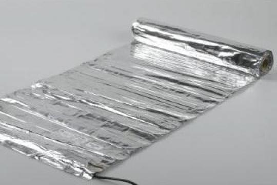 Sistem de incalzire sub parchet laminat si lemn