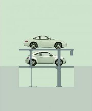 Sistem de parcare analog