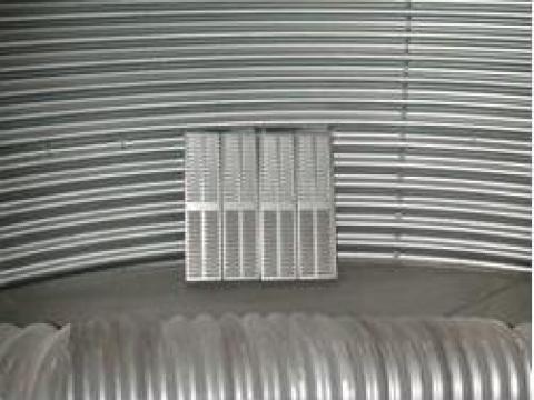 Sistem de ventilatie cereale