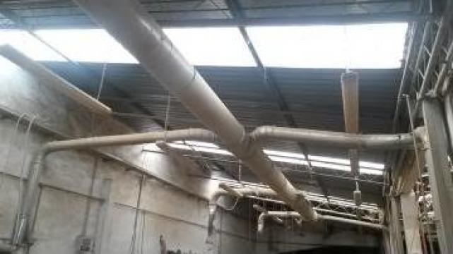 Sistem exhaustare cu tuburi