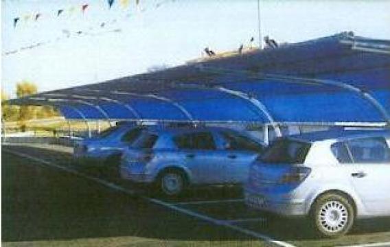 Sisteme metalice de copertine pentru parcari