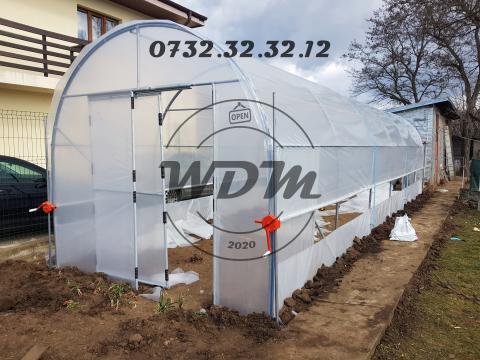 Solarii legume din teava galvanizata 3, 4, 5, 6m