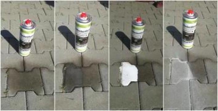 Solutie curatat pete ulei