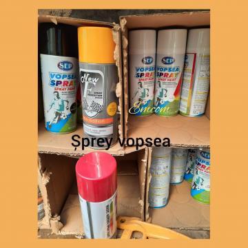 Sprayuri diferite culori si nuante cu vopsea auto