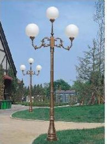 Stalp iluminat gradina din aluminiu PLGSA23