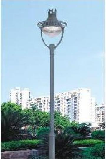 Stalp iluminat parcuri zone rezidentiale PLGSP3