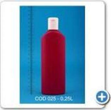 Sticla plastic la 0,25 l -025
