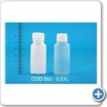 Sticluta plastic la 0,01 l
