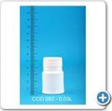 Sticluta plastic la 0,03 l