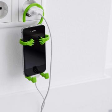 Suport flexibil telefon incarcare priza