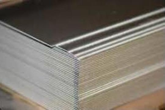 Tabla aluminiu lisa 3mm striata stucco perforata alama cupru