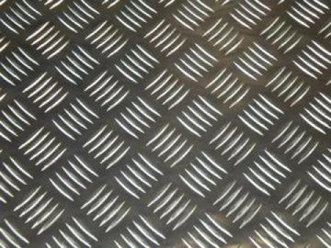 Tabla aluminiu striata Quintett 3x1250x2500mm