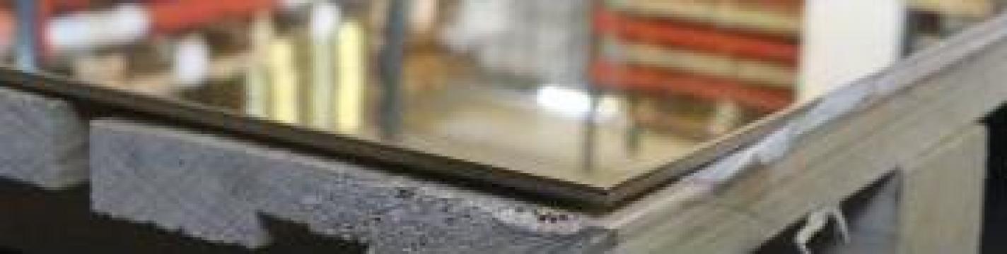 Tabla de alama decorativa 4x1000x1500mm cupru, inox
