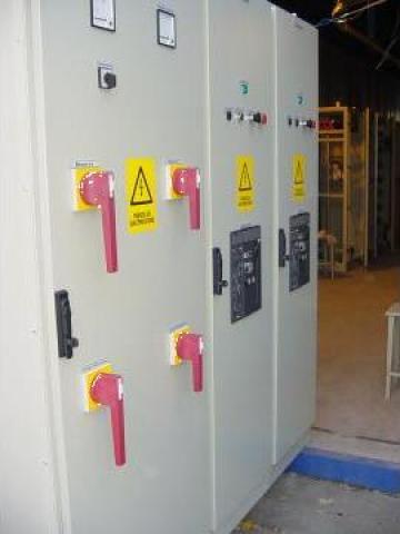 Tablouri electrice pentru distributie si automatizare