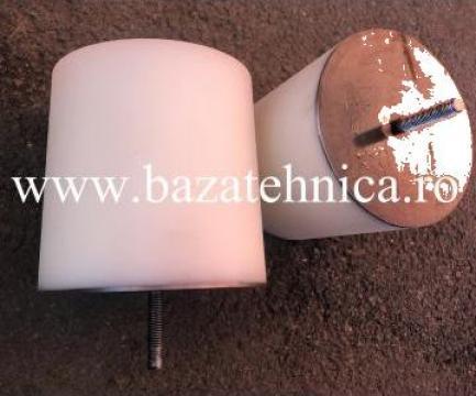 Tampon cauciuc poliuretanic pentru pod rulant D160/150x160