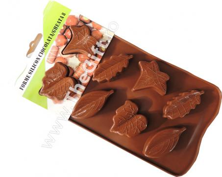 Tava din silicon pentru ciocolata, gheata, briose