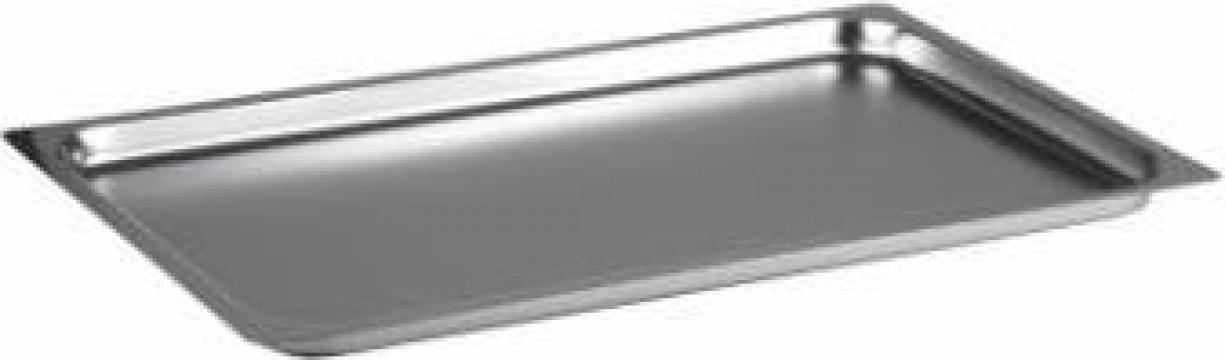 Tava inox gastronorm 1-1 GN, 10mm