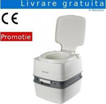 Toaleta ecologica portabila cu bazin cu apa