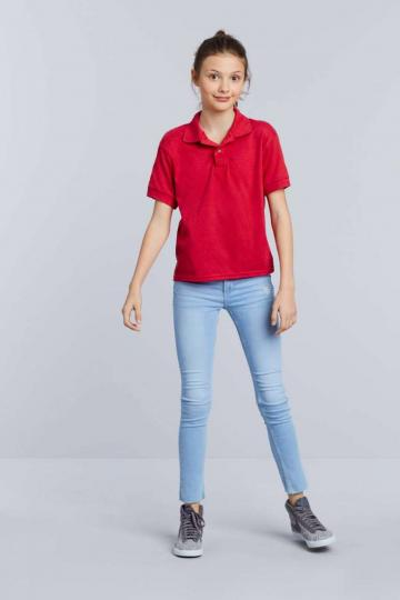 Tricou Dryblend Youth Double Pique Polo
