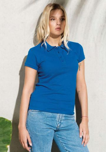 Tricou Ladies Organic Pique Short Sleeve Polo Shirt