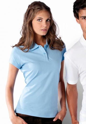 Tricou Ladies' Short Sleeve Pique Polo Shirt