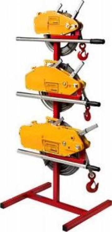Troliu manual cu cablu 1600 kg (Tirfor)