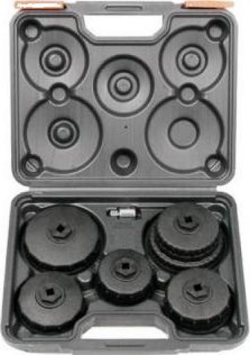 """Trusa tubulare filtru de ulei 3/8"""" ZB-1018 -1/2""""6buc."""