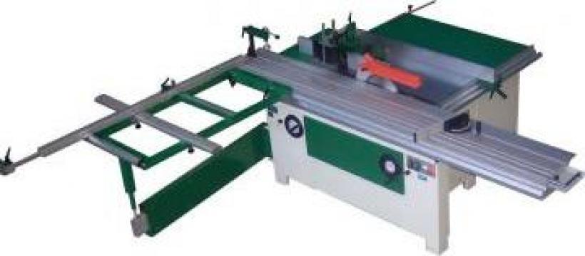 Utilaj combinat pentru frezare lemn si formatizare PAL