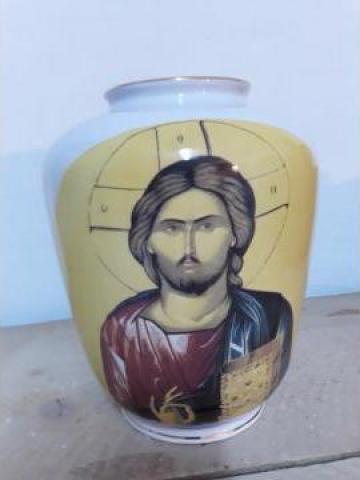 Vaza Iris decor religios