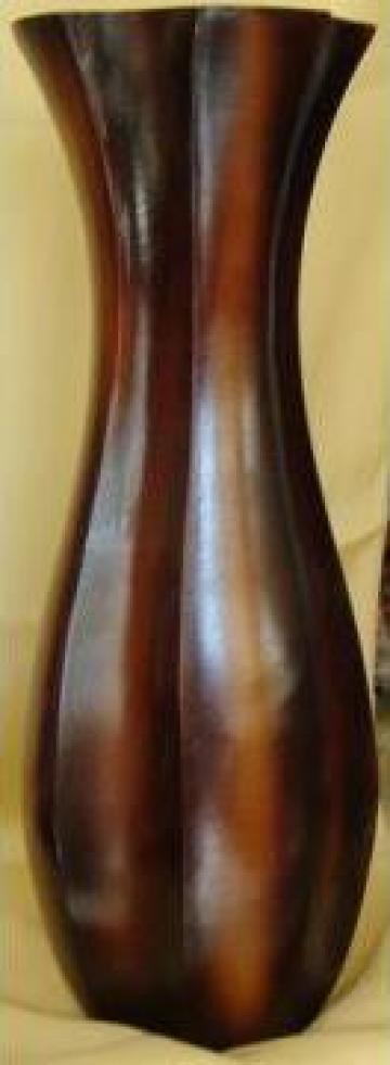 Vaza lemn TEK