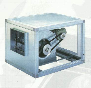 Ventilator centrifugal debit CVTT 10/10 with motor of 0.37kw