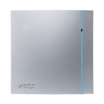 Ventilator de baie Silent-100 CRZ Silver Design Ecowatt