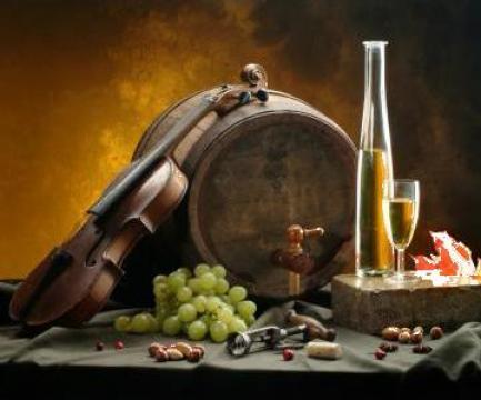 Vin alb (Feteasca Regala si Aligotei)